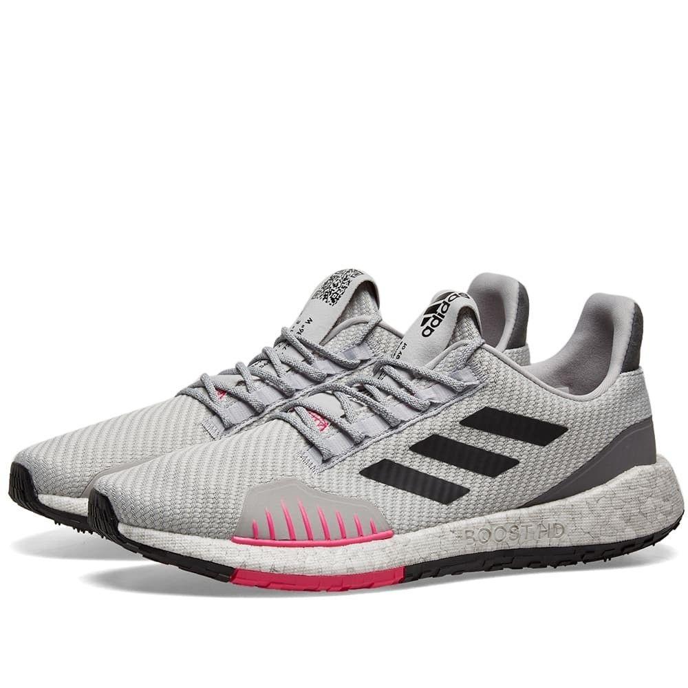 アディダス Adidas メンズ スニーカー シューズ・靴【Pulseboost HD Winter】Grey Two