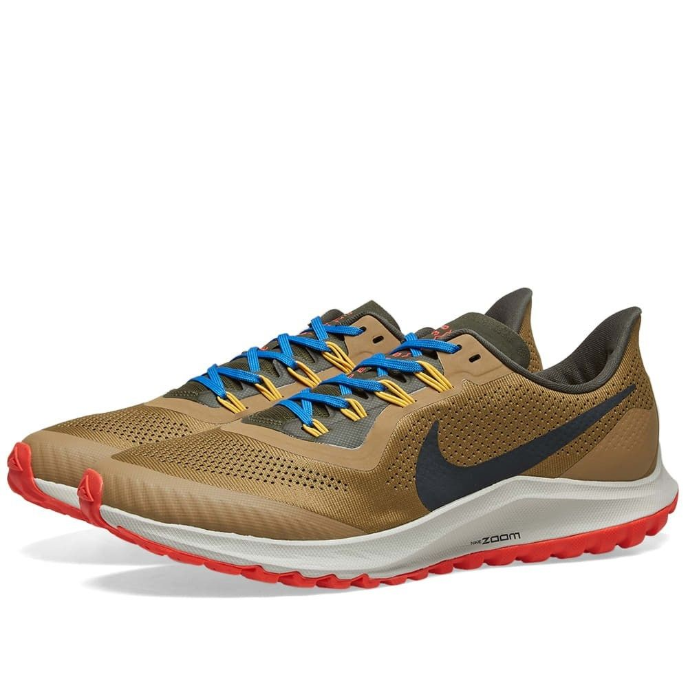 ナイキ Nike メンズ スニーカー エアズーム シューズ・靴【Air Zoom Pegasus 36 Trail】Beechtree/Off-Noir/Gold