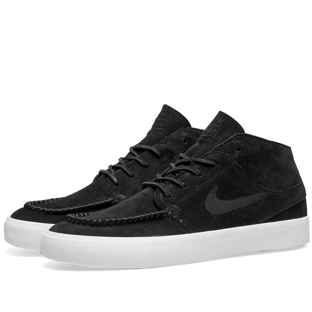 ナイキ Nike SB メンズ スニーカー シューズ・靴【Janoski Mid RM Crafted】Black/Pale Ivory