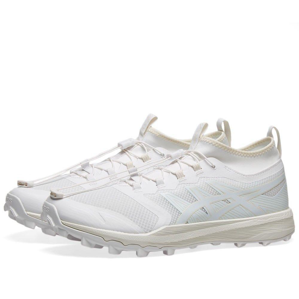 アシックス Asics メンズ スニーカー シューズ・靴【Hokaido Fuji Trabuco Pro】White/Arctic Blue