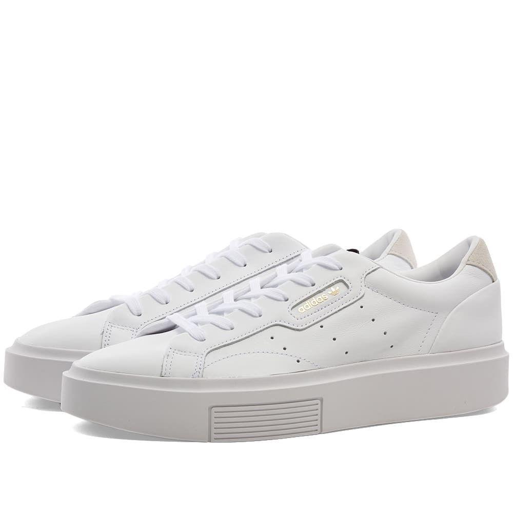 アディダス Adidas レディース スニーカー シューズ・靴【Sleek Super W】White/Crystal/Core Black
