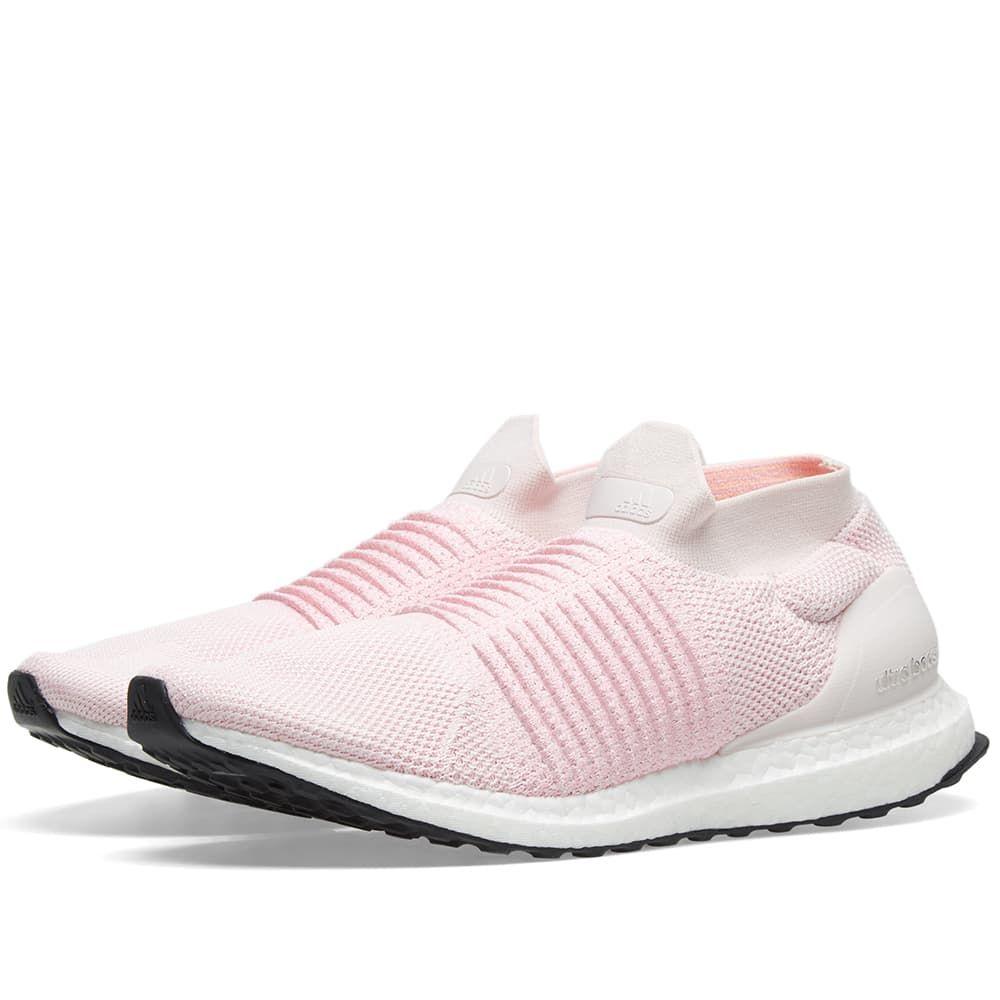 アディダス Adidas レディース スニーカー シューズ・靴【Ultra Boost Laceless W】Orchid Tint/Pink/Carbon