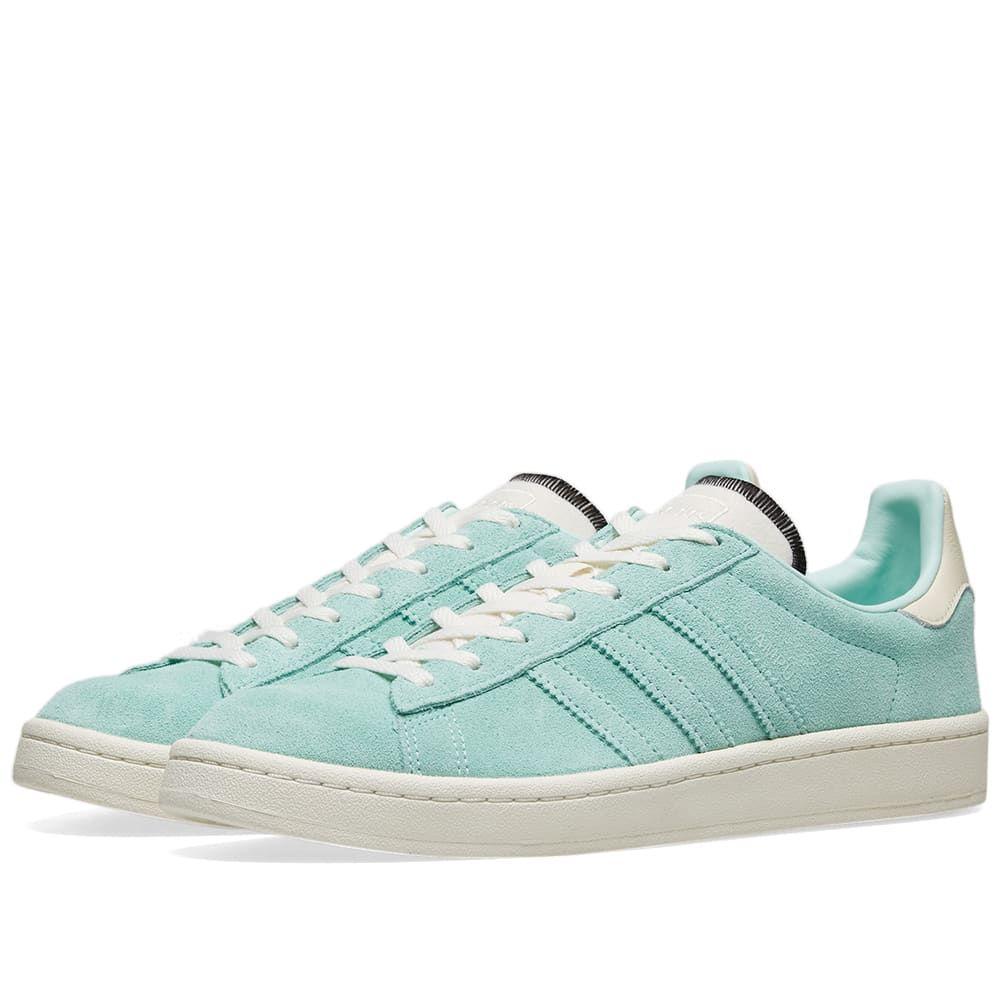 アディダス Adidas レディース スニーカー シューズ・靴【Campus W】Clear Mint/Off White