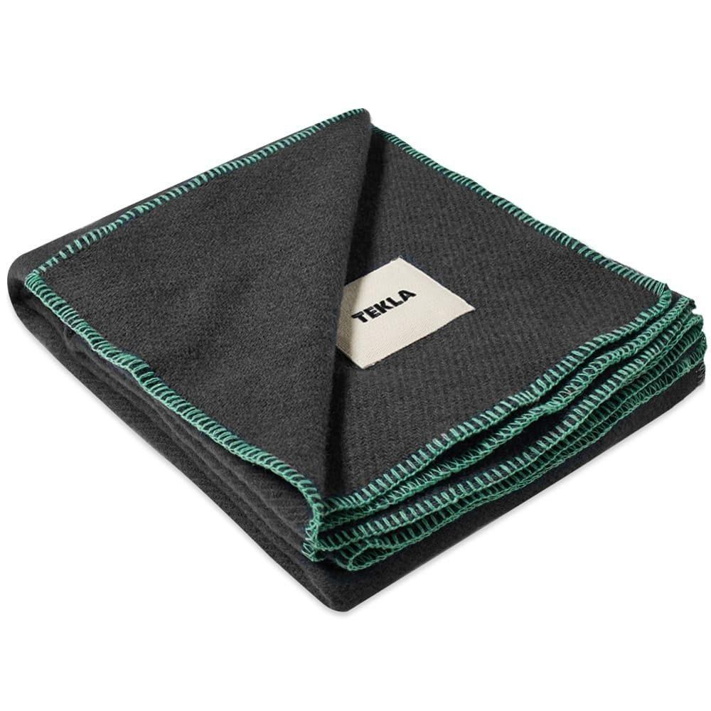 テクラ ファブリック Tekla Fabrics メンズ 雑貨 ブランケット【Pure New Wool Blanket】Charcoal Grey