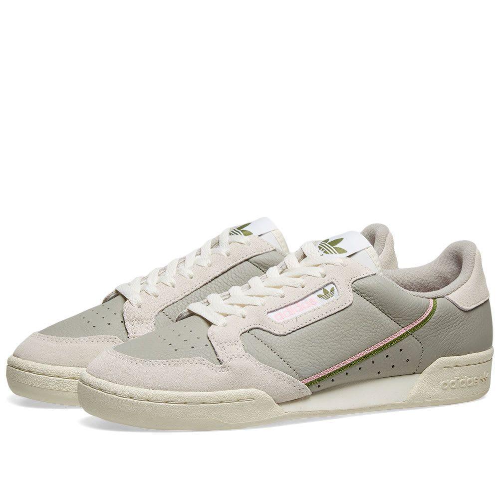 アディダス Adidas レディース スニーカー シューズ・靴【Continental 80 W】Sesame/White