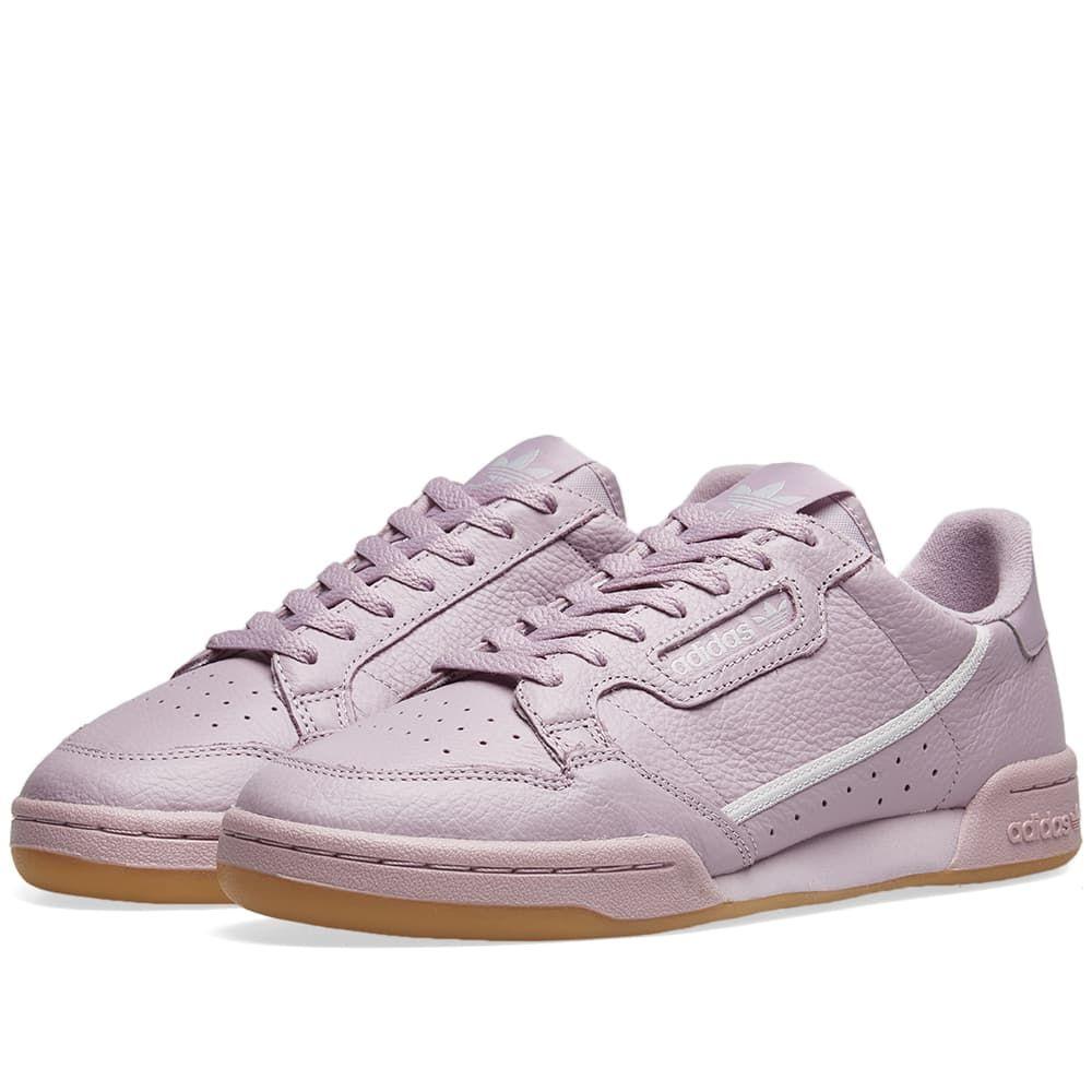アディダス Adidas レディース スニーカー シューズ・靴【Continental 80 W】Soft Vision/Grey