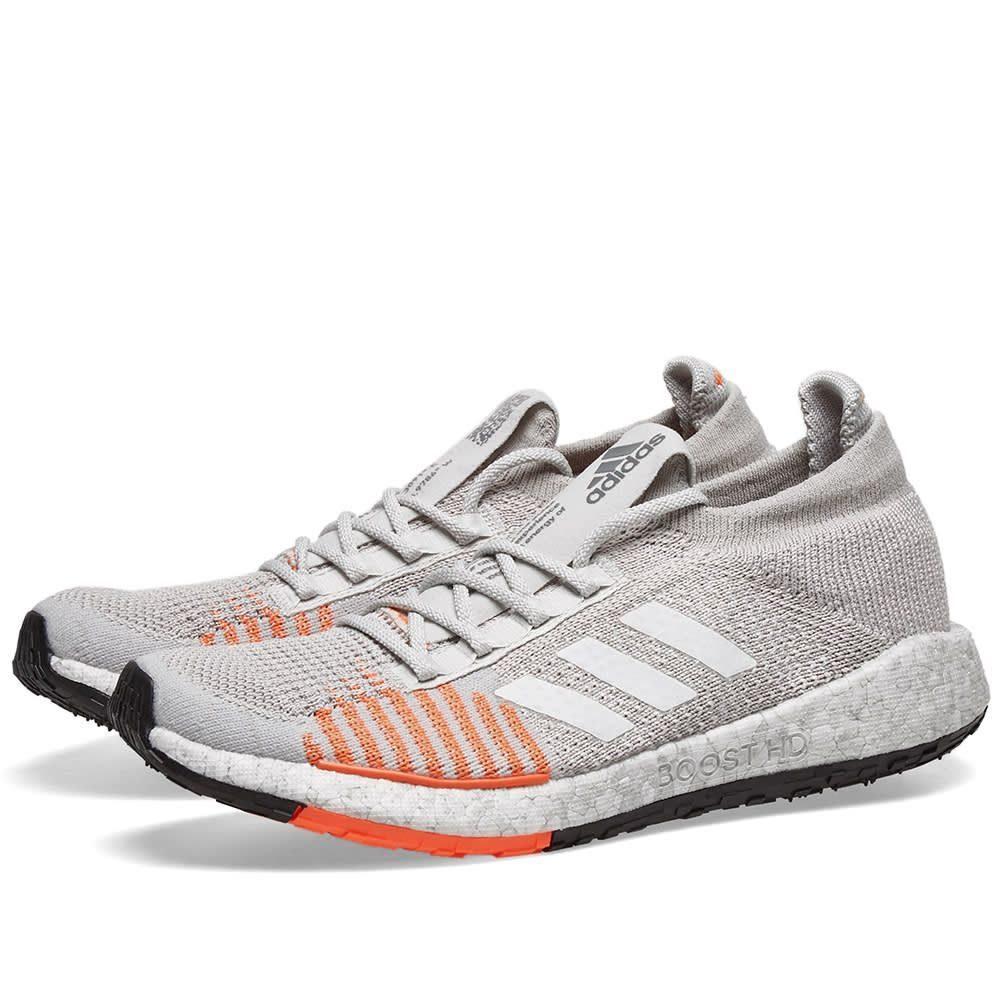 アディダス Adidas レディース スニーカー シューズ・靴【Pulseboost HD W】Grey/White/Coral