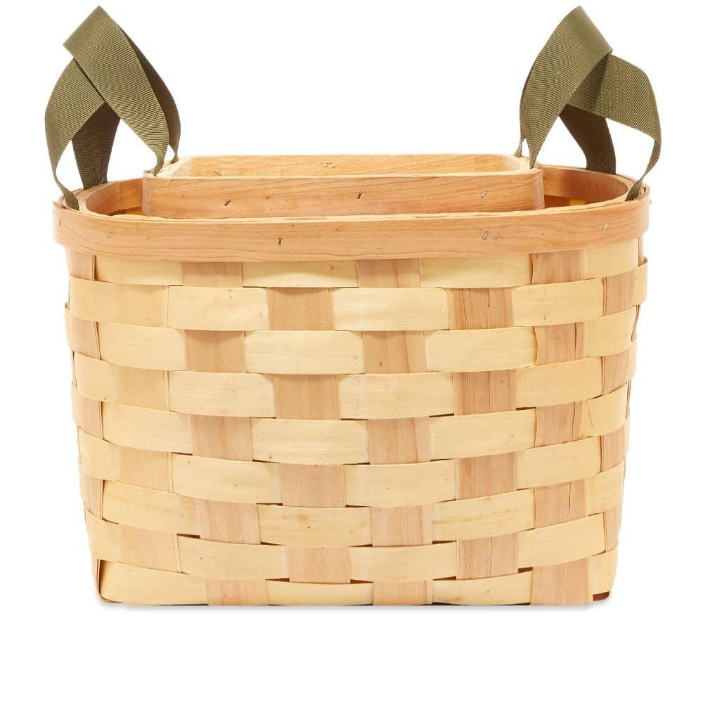 プエブコ Puebco メンズ 雑貨 【Woven Wooden Basket - Set Of 2】Natural