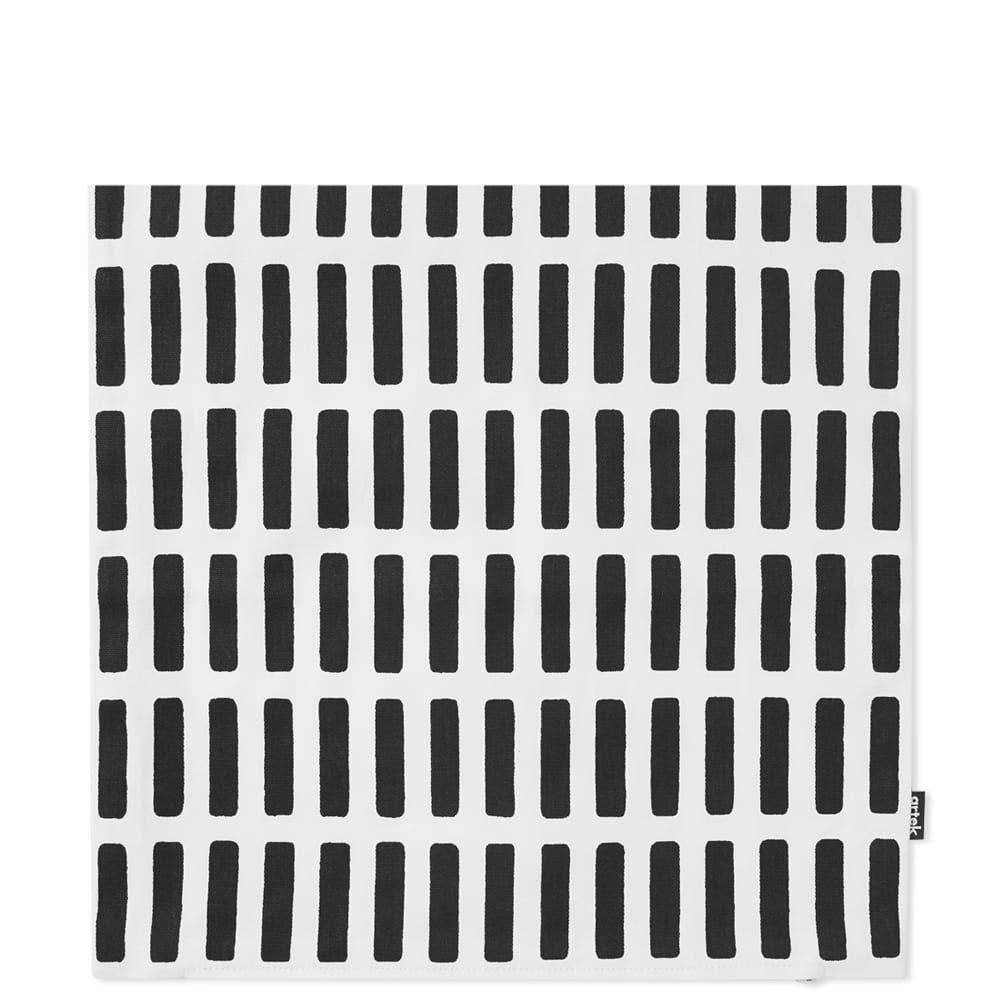 アルテック Artek メンズ 雑貨 クッションカバー【Siena Medium Cushion Cover】White/Black