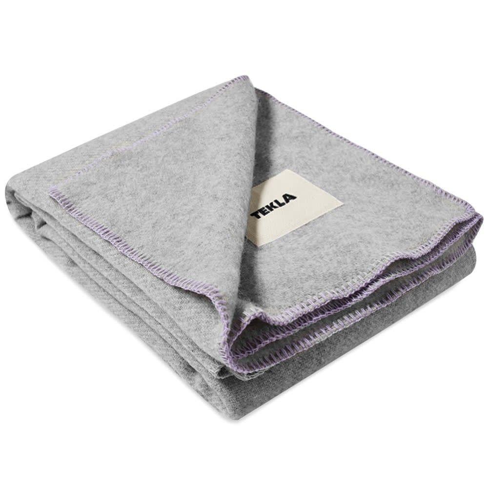 テクラ ファブリック Tekla Fabrics メンズ 雑貨 ブランケット【Pure New Wool Blanket】Pebble Grey