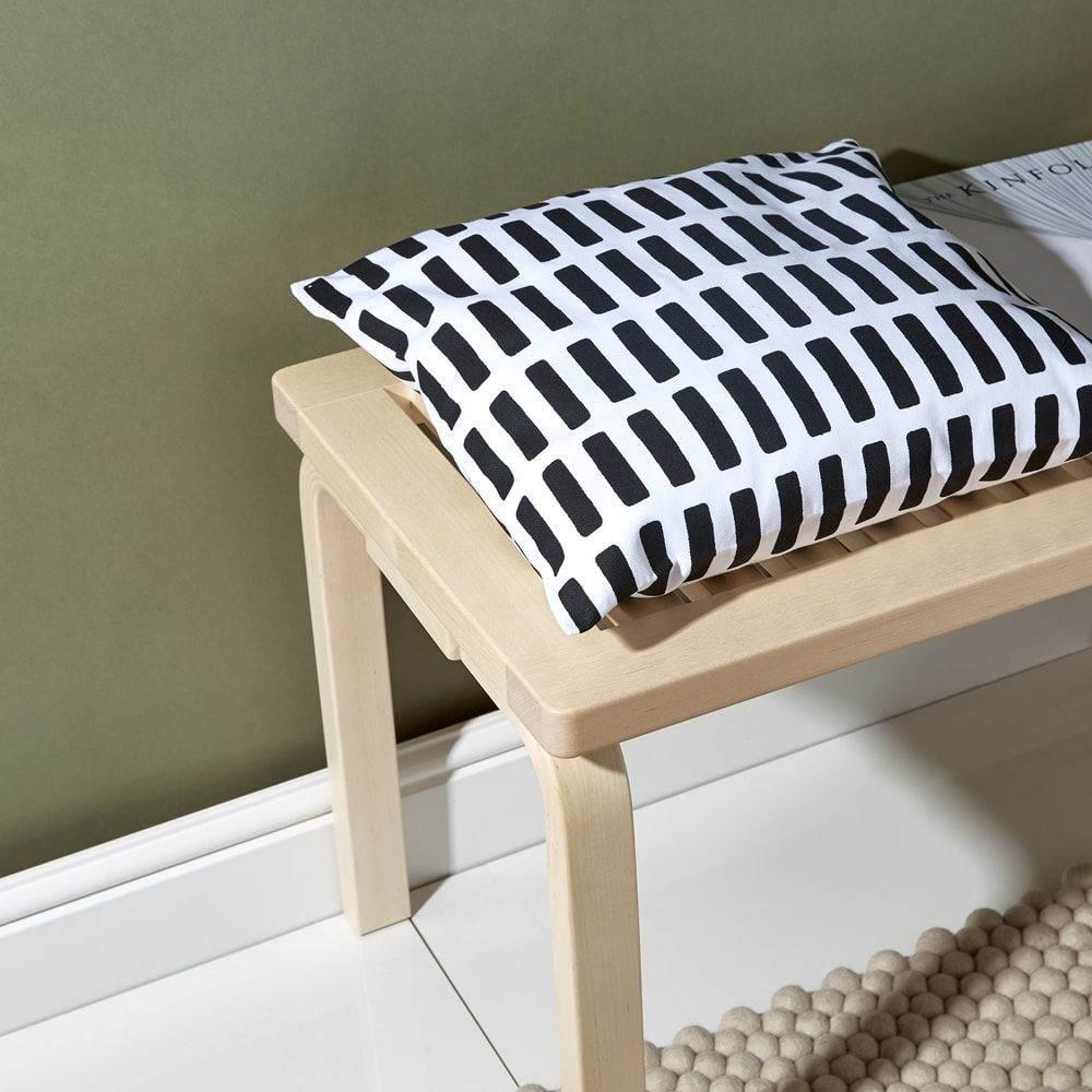アルテック Artek メンズ 雑貨 クッションカバー【Siena Large Cushion Cover】White/Black