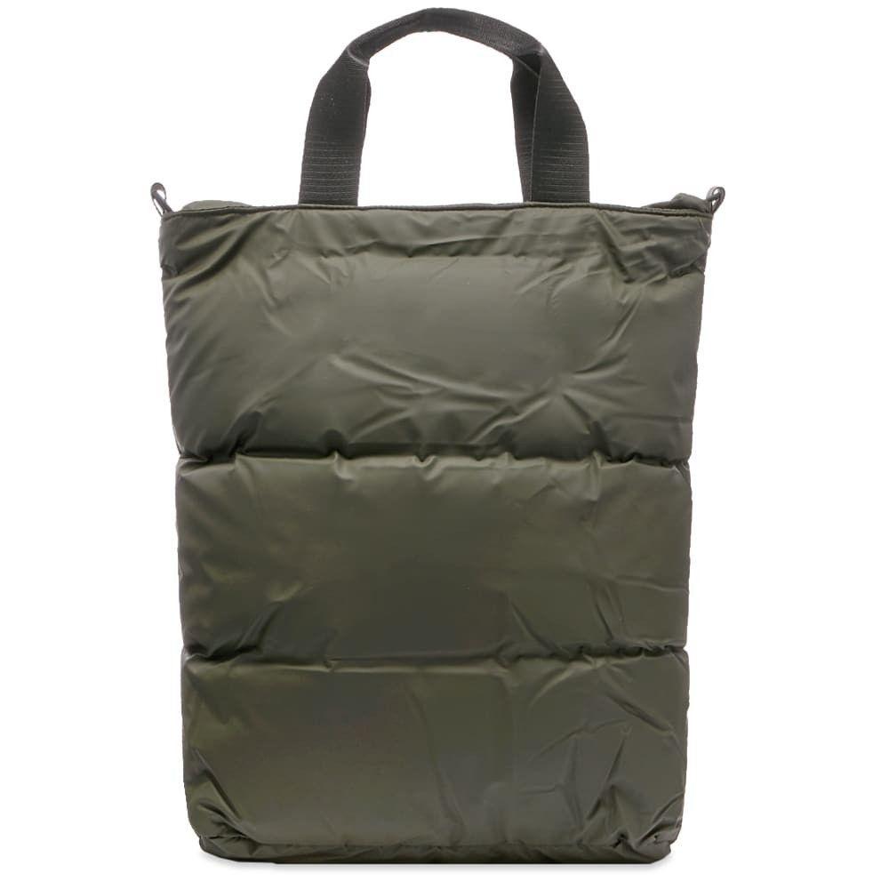 レインズ Rains メンズ トートバッグ バッグ【Puffer Crossbody Tote Bag】Green