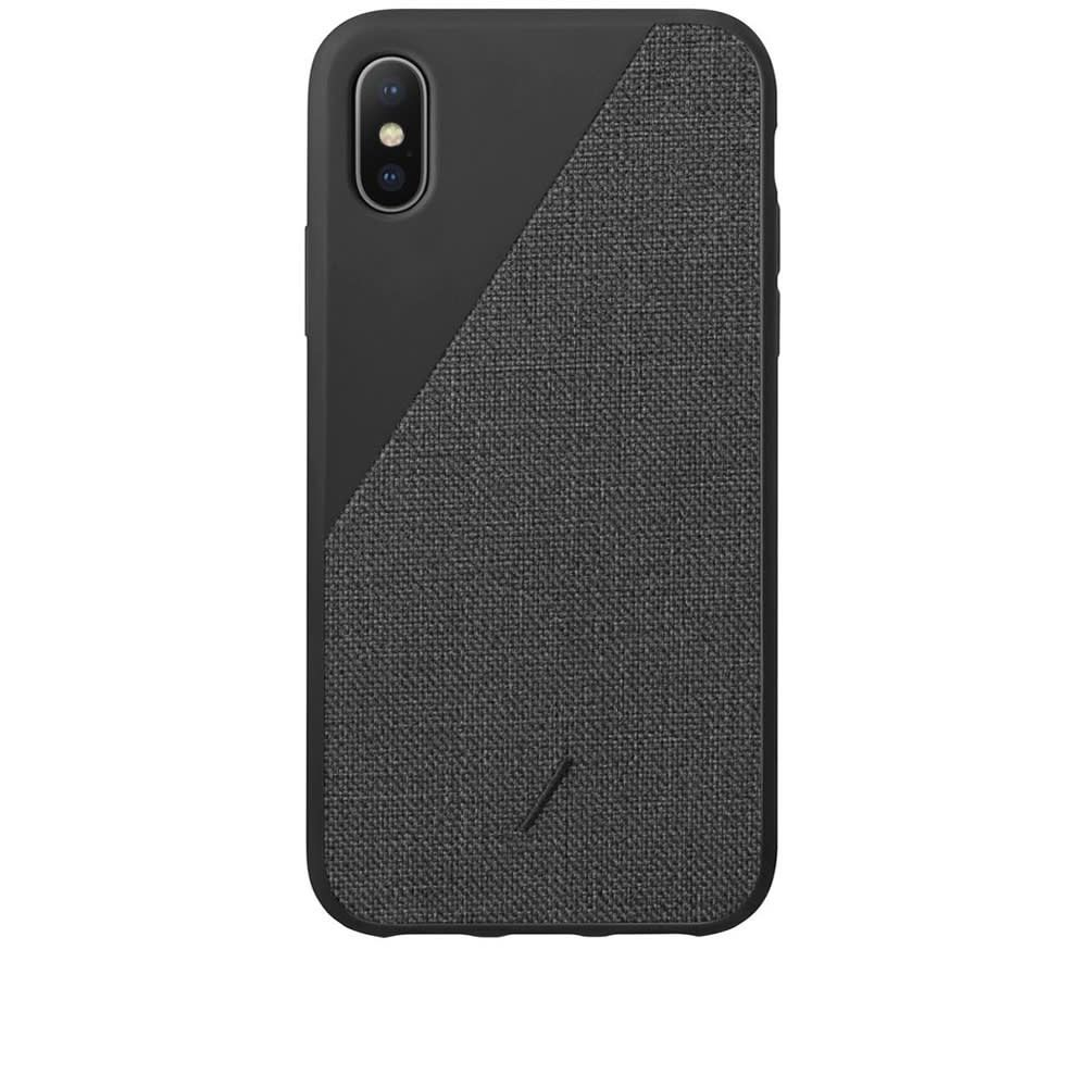 ネイティブユニオン Native Union メンズ iPhoneケース 【Clic Canvas iPhone XR Case】Black