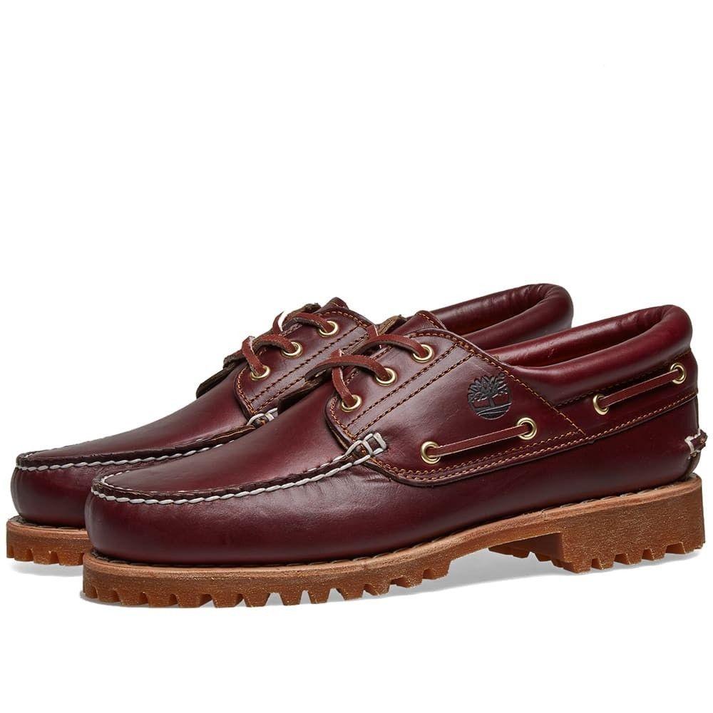 ティンバーランド Timberland メンズ シューズ・靴 【Authentic 3 Eye Classic Lug Shoe】Burgundy