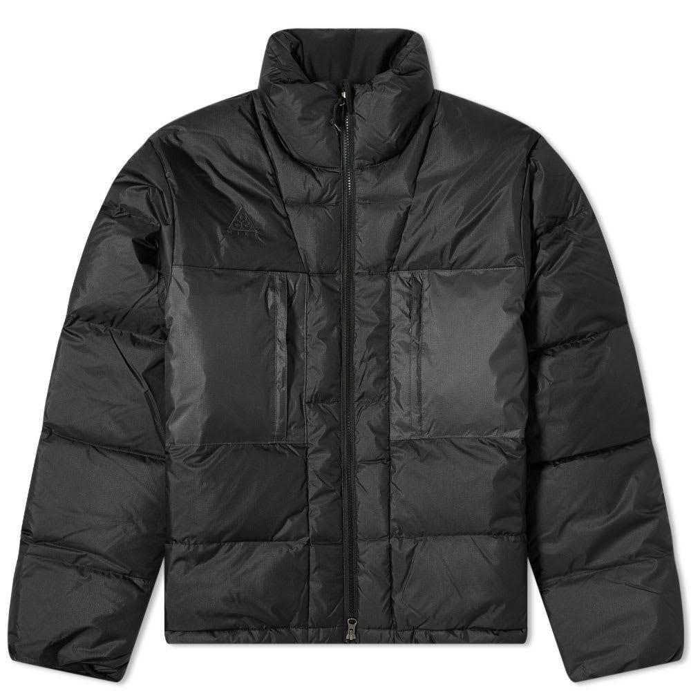 ナイキ Nike メンズ ダウン・中綿ジャケット アウター【ACG Down Jacket】Black/Anthracite