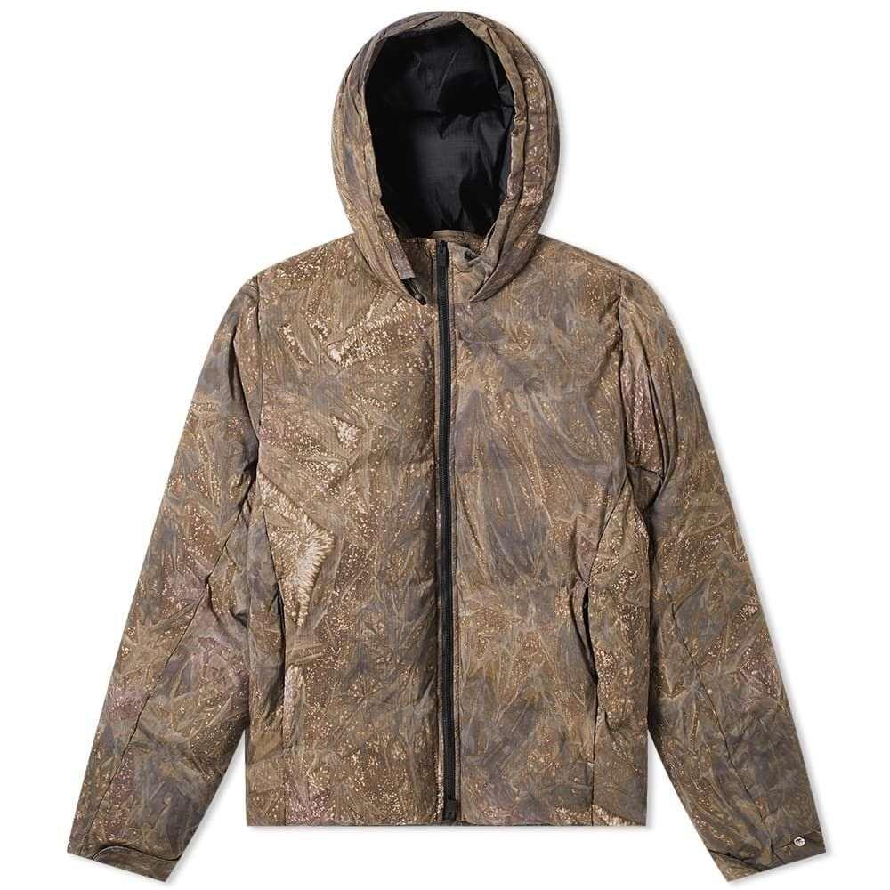 アリクス 1017 ALYX 9SM メンズ ダウン・中綿ジャケット フード アウター【Camo Hooded Puffa Jacket】Camo Green