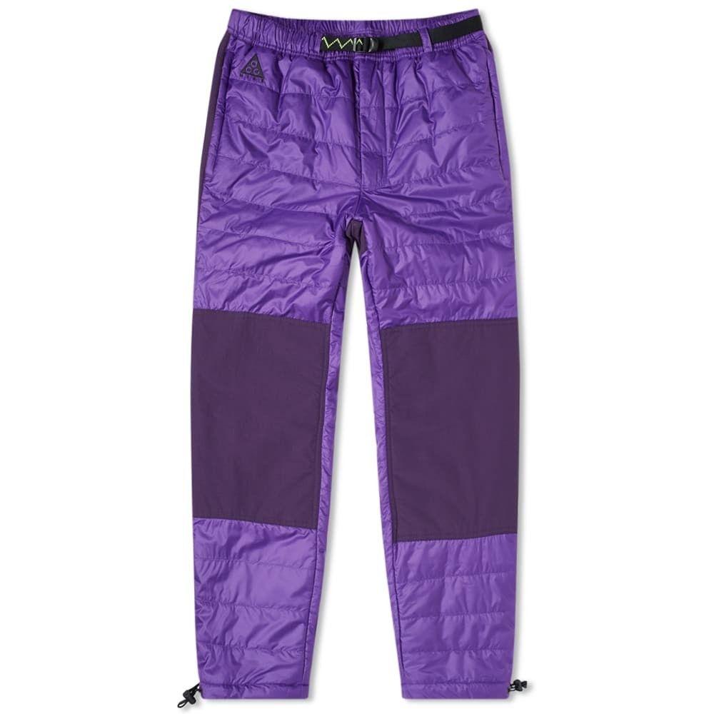 ナイキ Nike メンズ ボトムス・パンツ 【ACG Primaloft Pant】Voltage Purple
