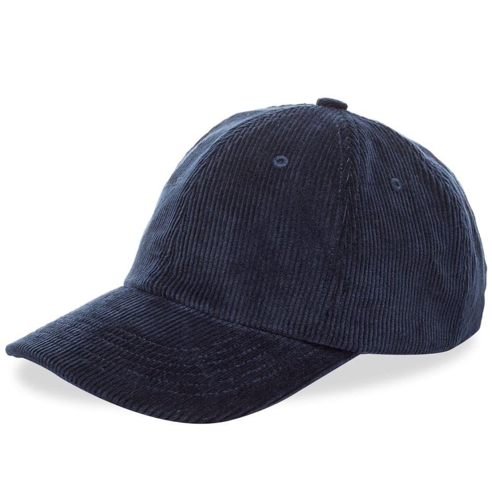 ノースプロジェクト メンズ 帽子 その他帽子 Ensign Blue 【サイズ交換無料】 ノースプロジェクト Norse Projects メンズ 帽子 【Wide Wale Cord Cap】Ensign Blue