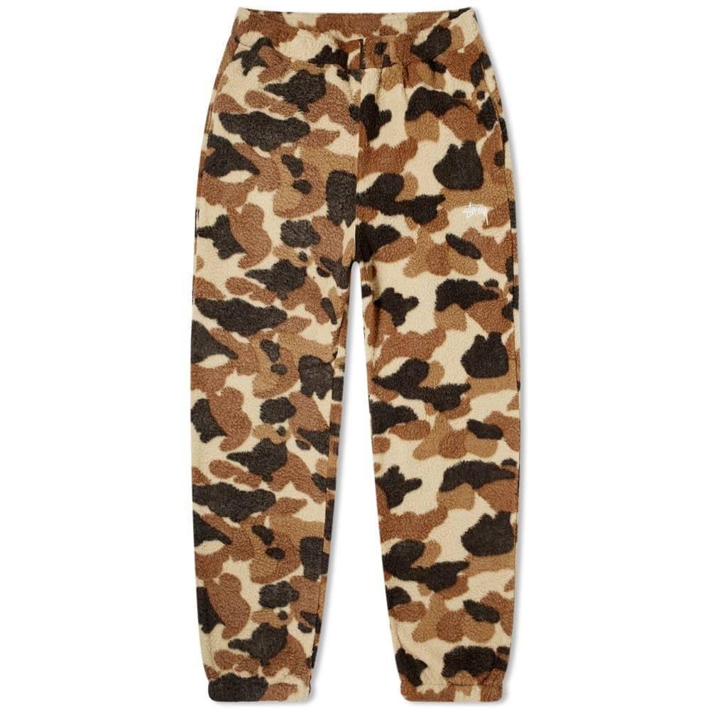 ステューシー Stussy メンズ ボトムス・パンツ 【Fleece Pant】Camo