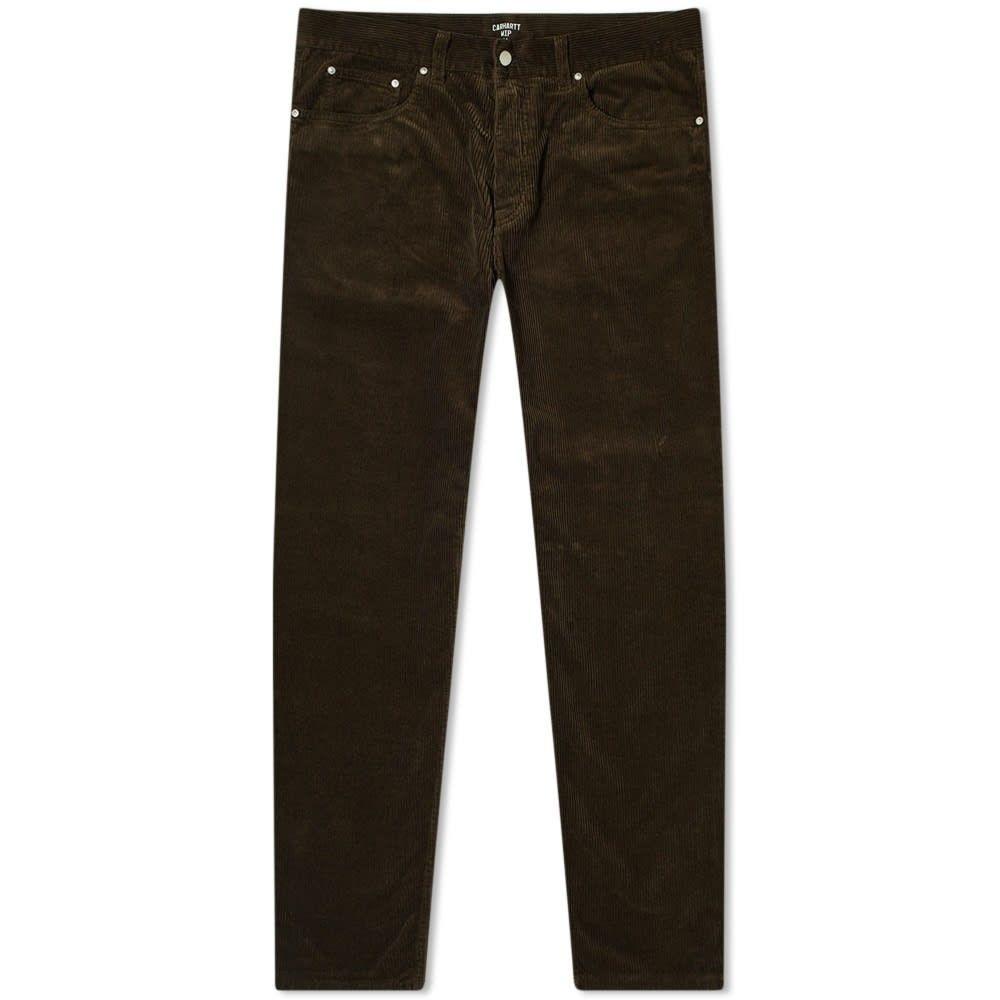 カーハート Carhartt WIP メンズ ボトムス・パンツ 【Newel Cord Pants】Tobacco