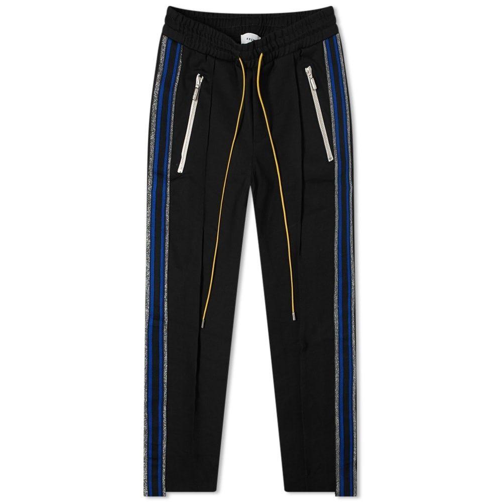 ルード Rhude メンズ ボトムス・パンツ 【Traxedo Pant】Black/Blue