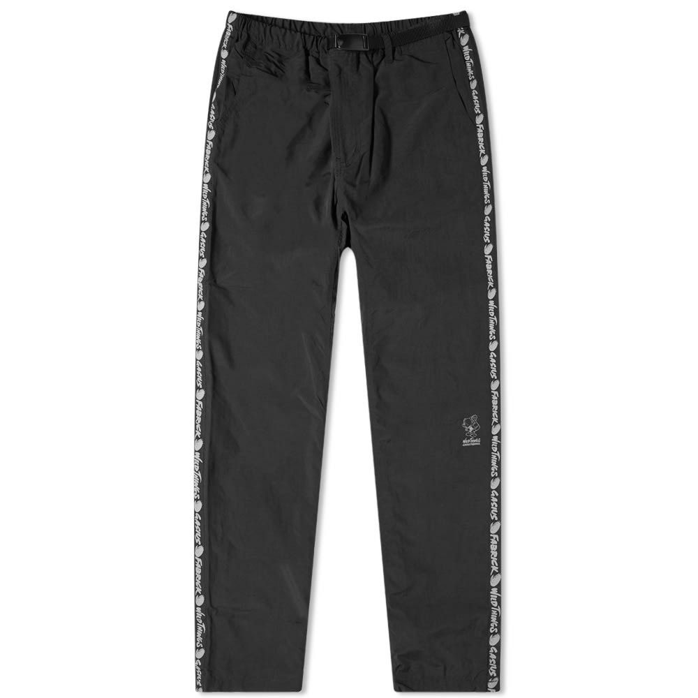 メディコム Medicom メンズ ボトムス・パンツ 【Fabrick x Gasius x Wild Things Side Tape Pant】Black