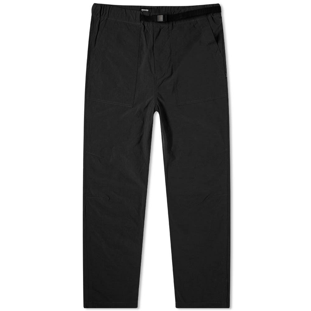 ヘブン HAVEN メンズ ボトムス・パンツ 【Taslan Pant】Black