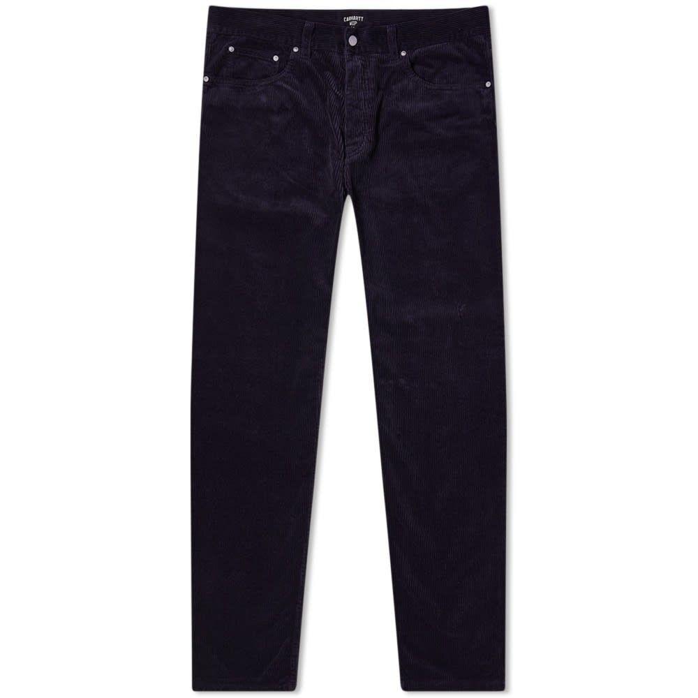 カーハート Carhartt WIP メンズ ボトムス・パンツ 【Newel Cord Pants】Dark Navy