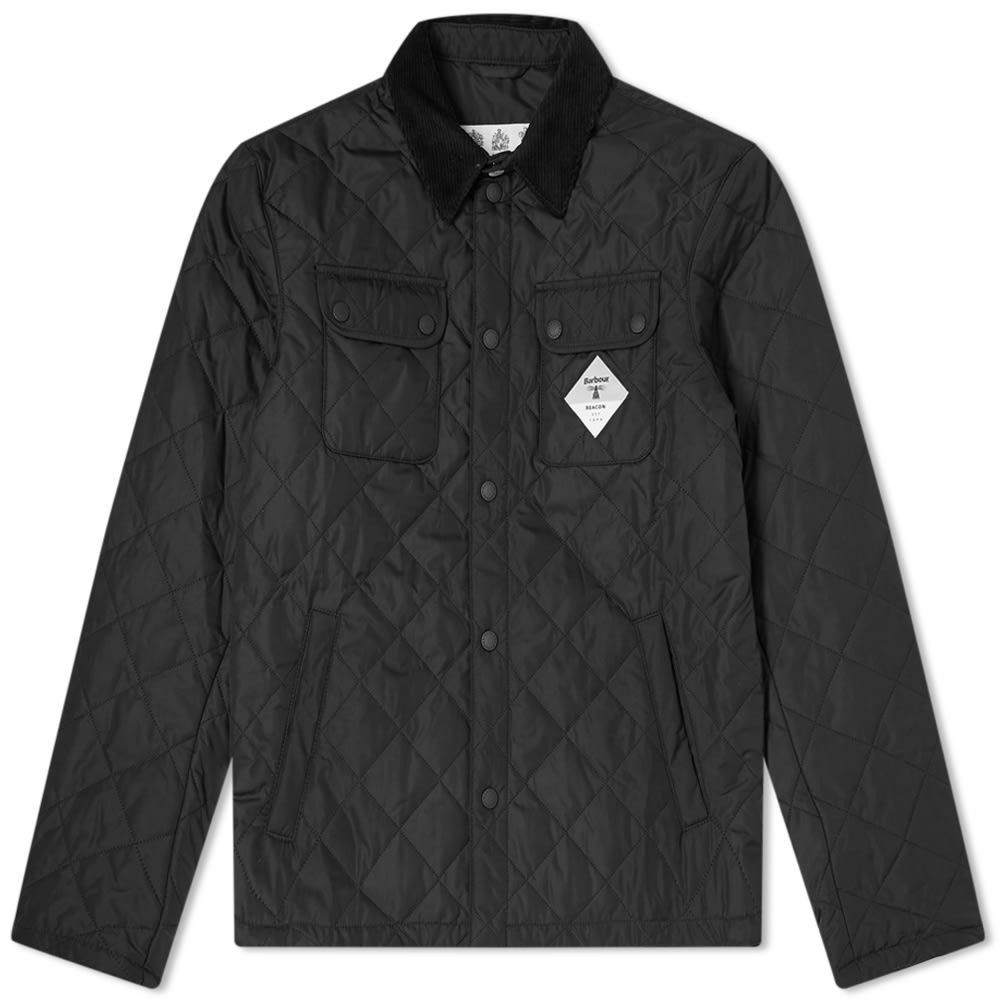 バブアー Barbour メンズ ダウン・中綿ジャケット アウター【Beacon Aken Quilt Jacket】Black