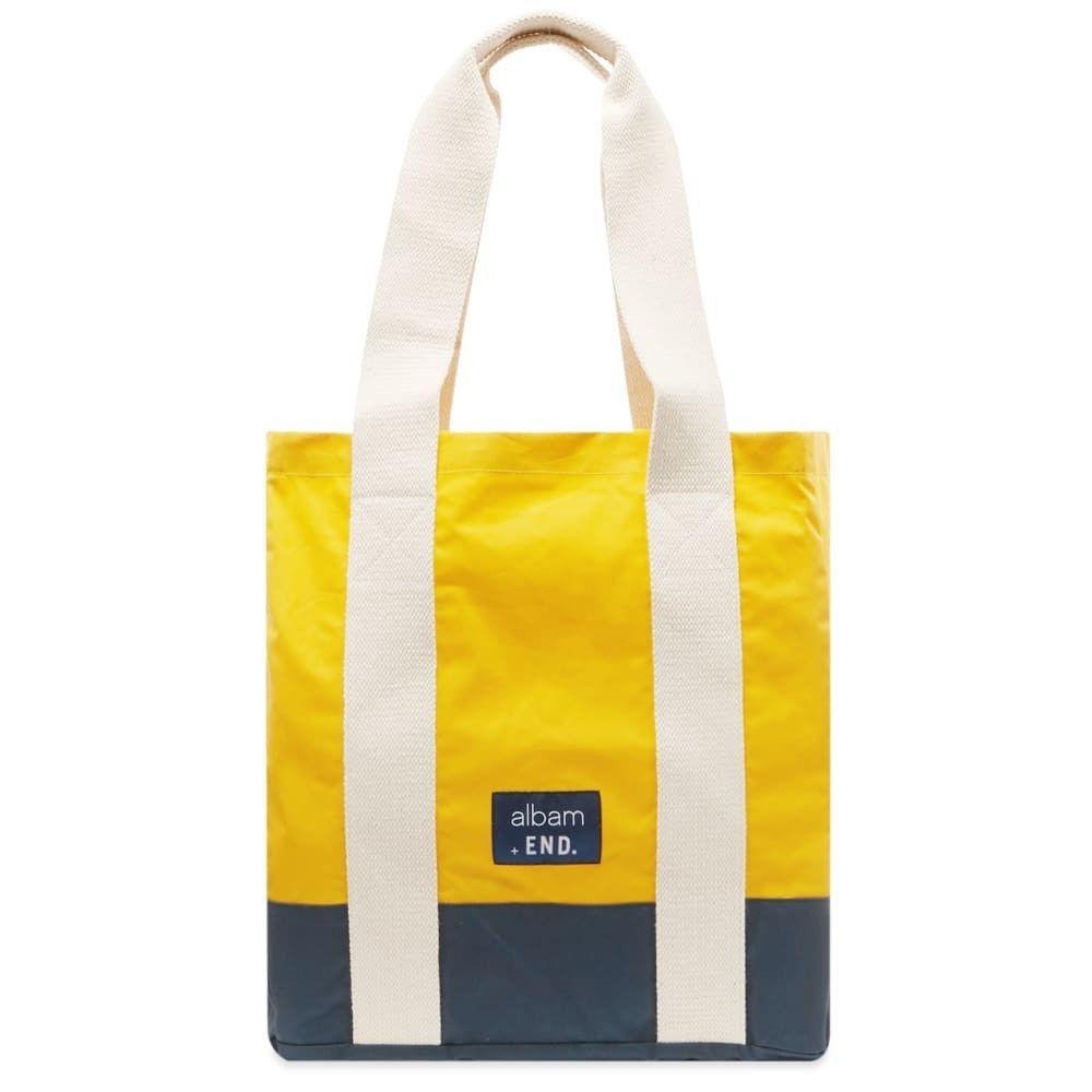 アルバム Albam メンズ トートバッグ バッグ【Fisherman's Tote Bag】Yellow/Navy