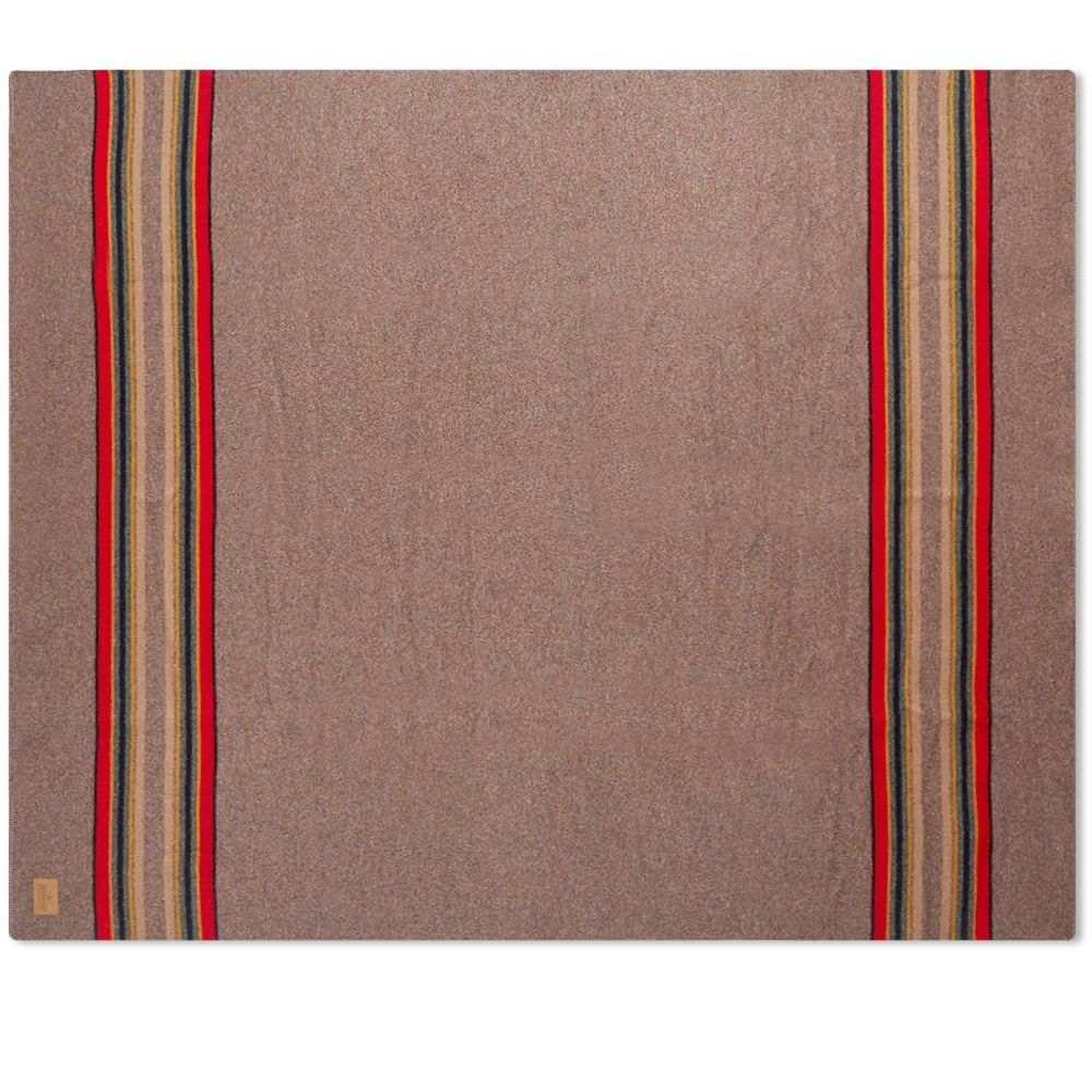 ペンドルトン Pendleton メンズ 雑貨 ブランケット【Yakima Twin Wool Blanket with Carrier】Mineral Umber