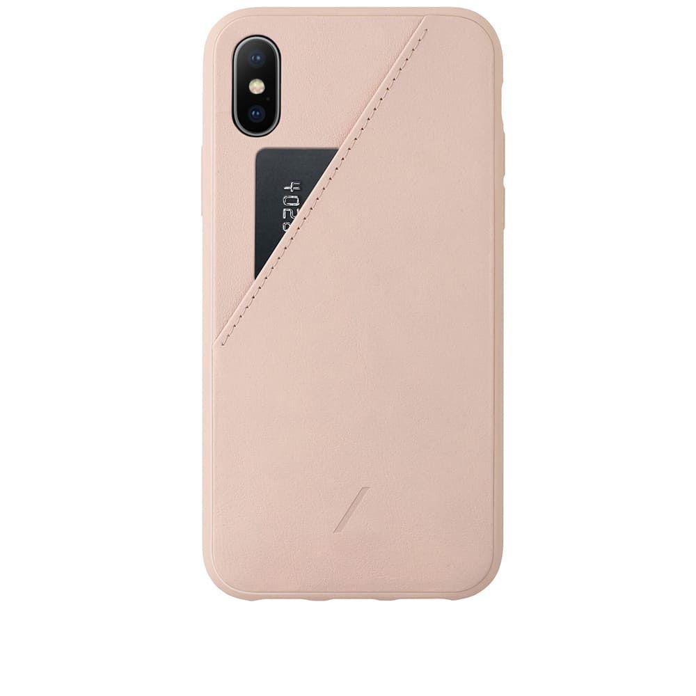 ネイティブユニオン Native Union メンズ iPhoneケース 【Clic Card iPhone XS Max Case】Rose