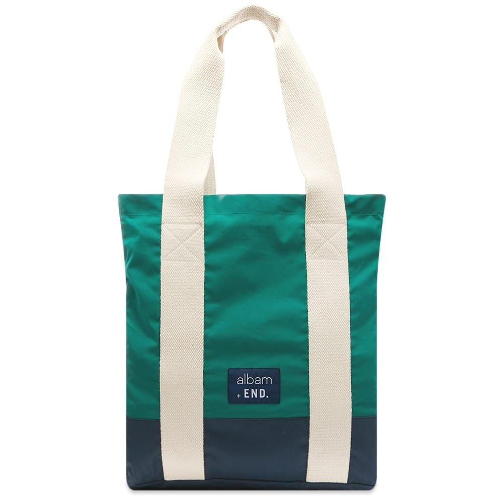 アルバム Albam メンズ トートバッグ バッグ【Fisherman's Tote Bag】Green/Navy
