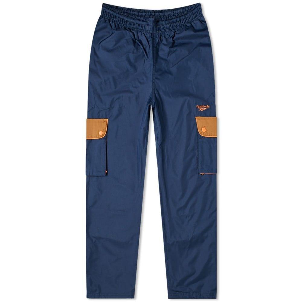 リーボック Reebok メンズ ボトムス・パンツ 【Classic Trail Pant】Navy/Wild Brown