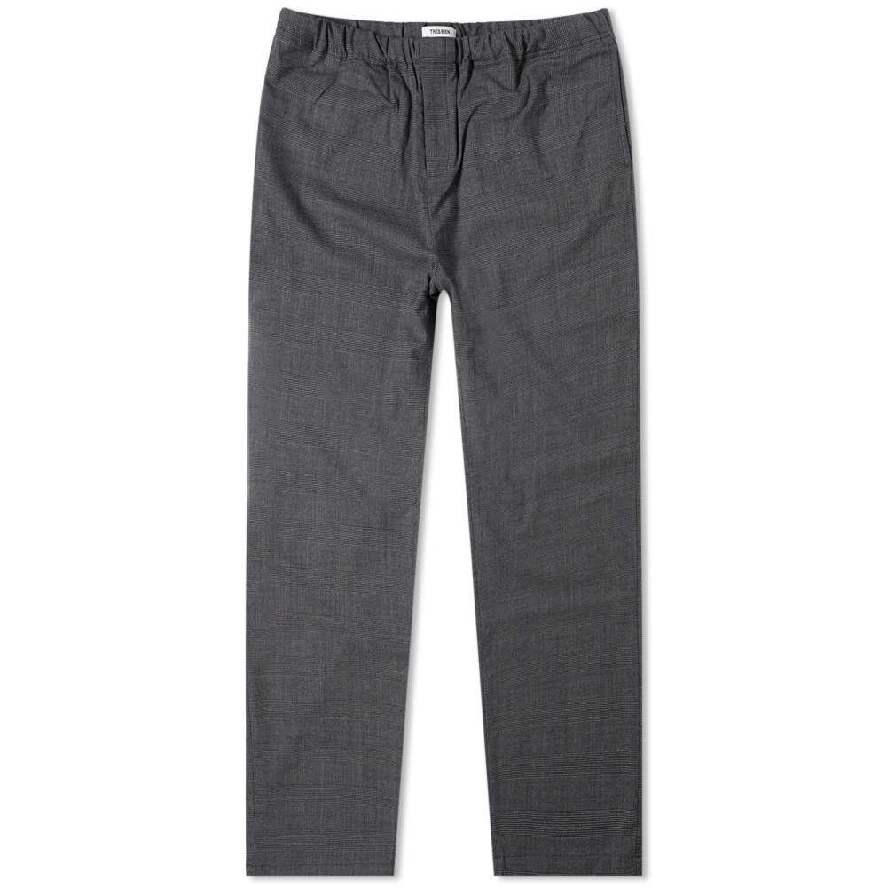 トレビアン Tres Bien メンズ ボトムス・パンツ 【Departure Wool Pant】Grey Check