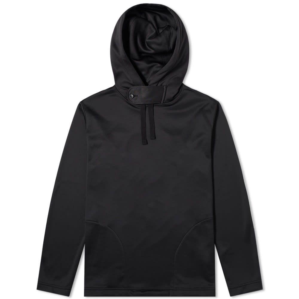 エンジニアードガーメンツ Engineered Garments メンズ パーカー トップス【Long Sleeve Hoody】Black