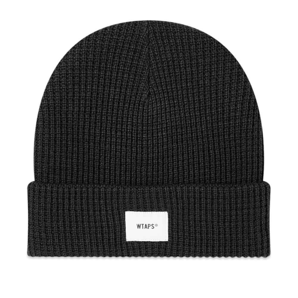 ダブルタップス メンズ 帽子 ニット Black 【サイズ交換無料】 ダブルタップス WTAPS メンズ ニット ビーニー 帽子【03 Beanie】Black