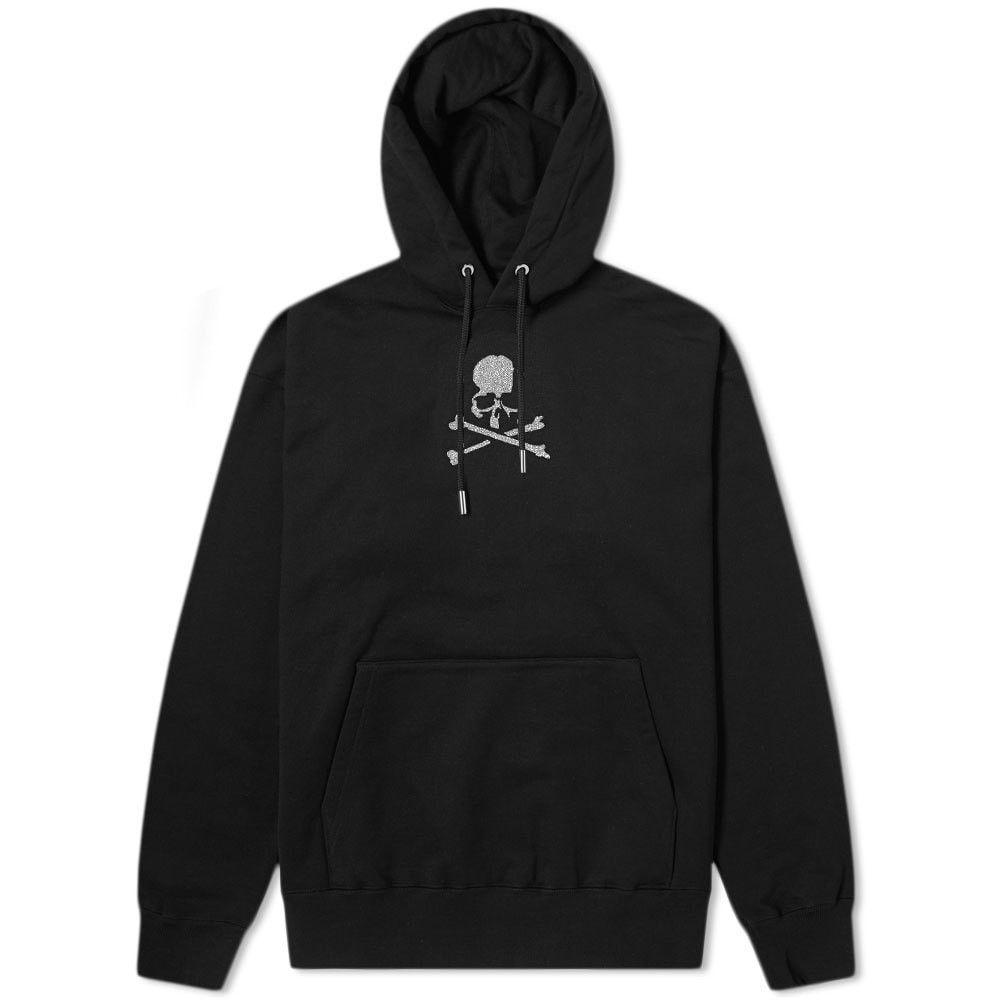 マスターマインド MASTERMIND WORLD メンズ パーカー トップス【Beaded Logo Popover Hoody】Black
