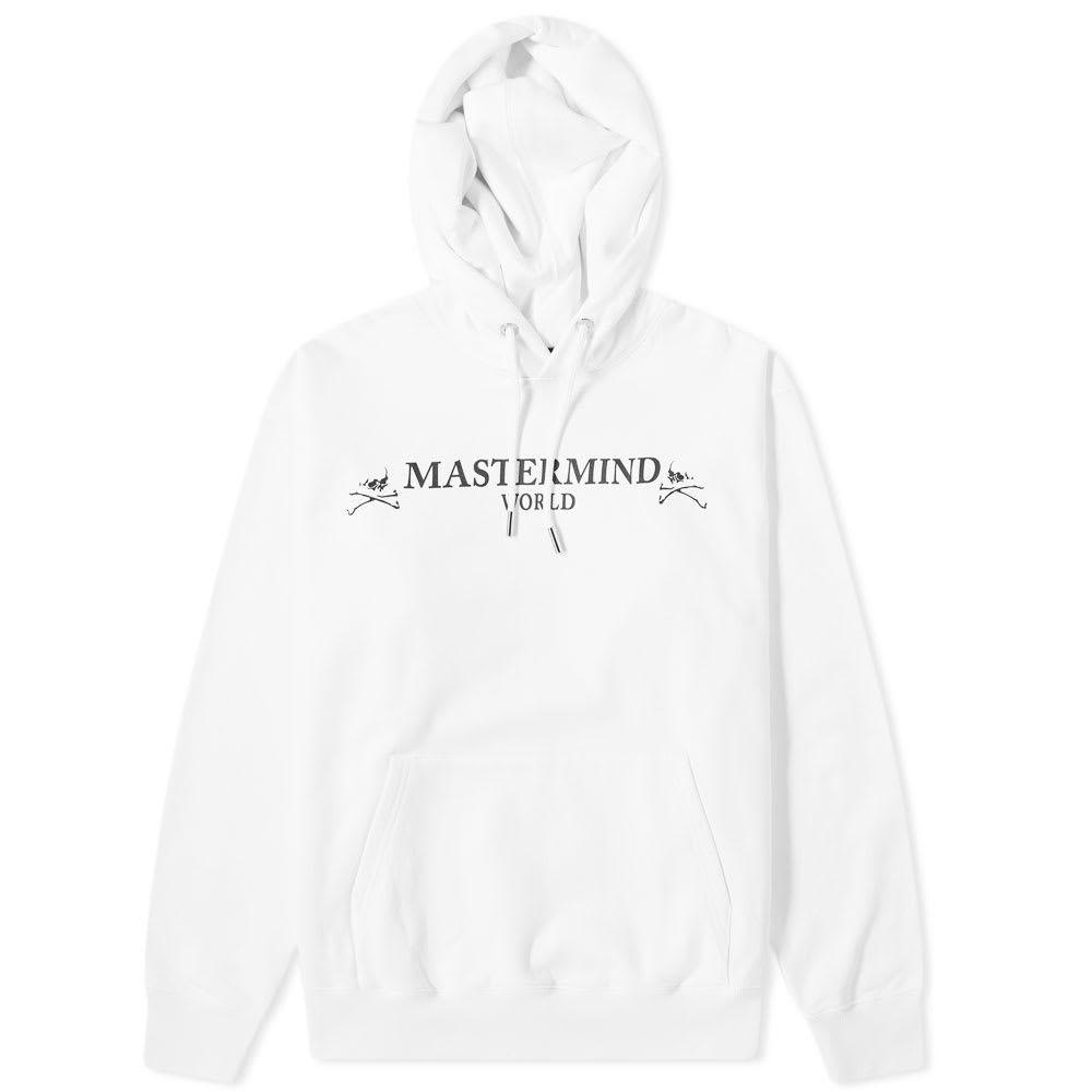 マスターマインド MASTERMIND WORLD メンズ パーカー トップス【Popover Skull Hoody】White