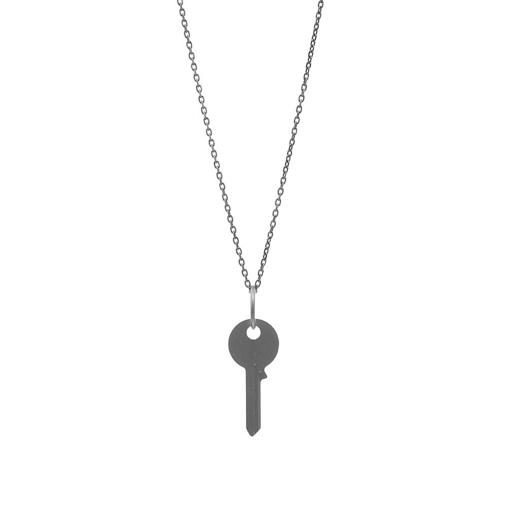メゾン マルジェラ Maison Margiela メンズ ネックレス ジュエリー・アクセサリー【11 Key Necklace】Silver