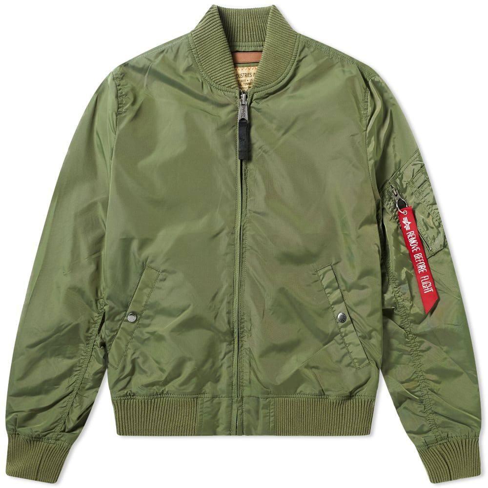 アルファ インダストリーズ Alpha Industries メンズ ブルゾン アウター【ma-1 tt jacket】Sage Green