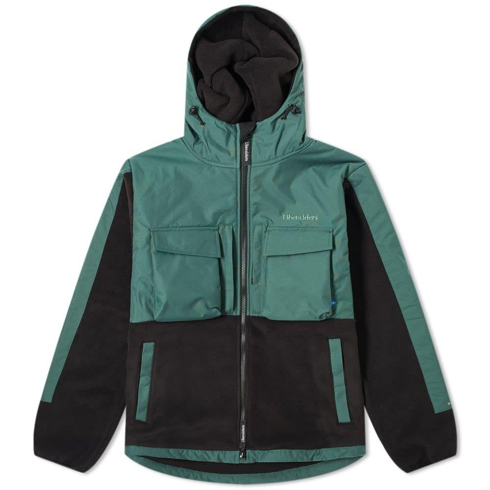リベレイダース Liberaiders メンズ フリース トップス【Polartec Fleece Jacket】Green