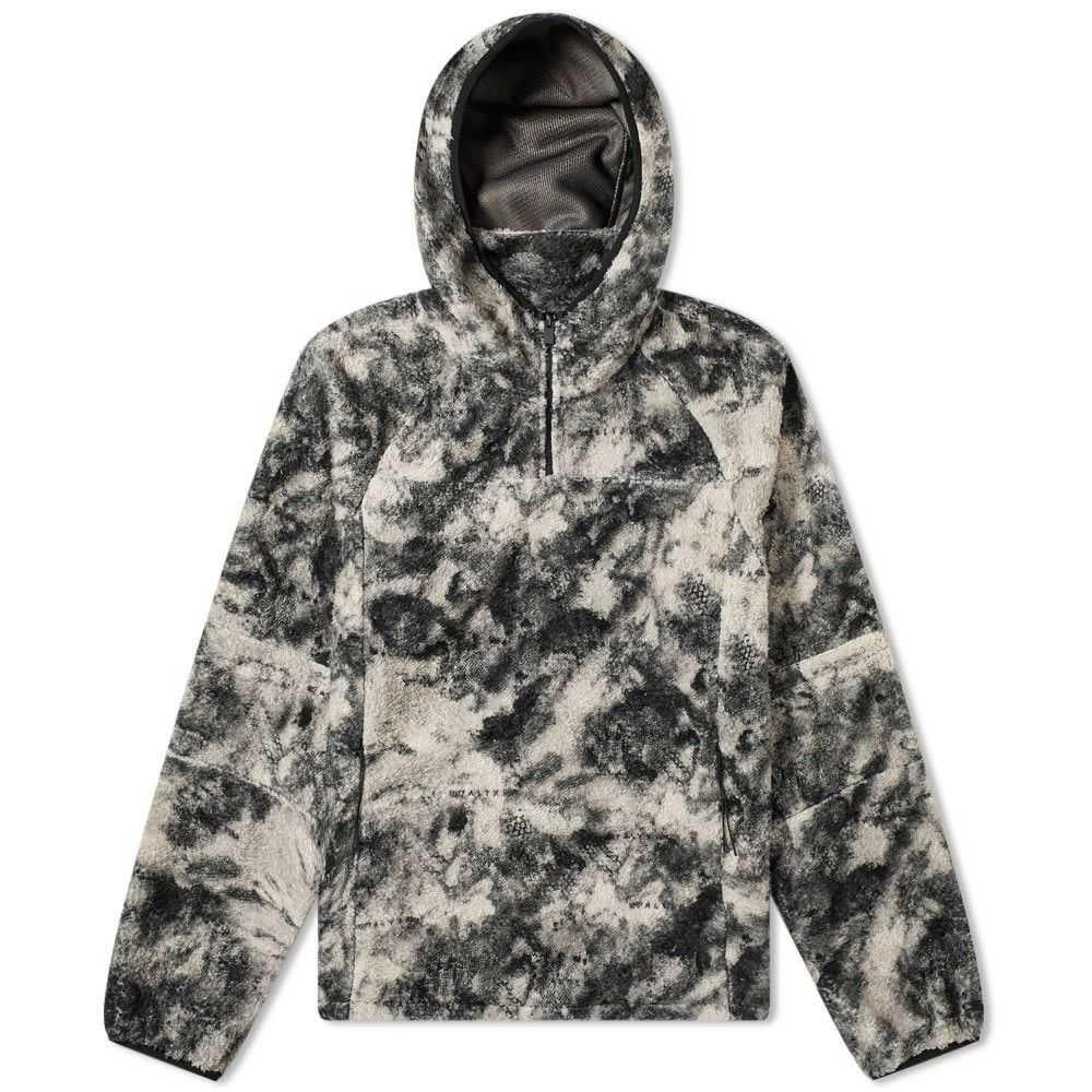 アリクス 1017 ALYX 9SM メンズ フリース トップス【Polar Fleece Popover Jacket】Black Camo