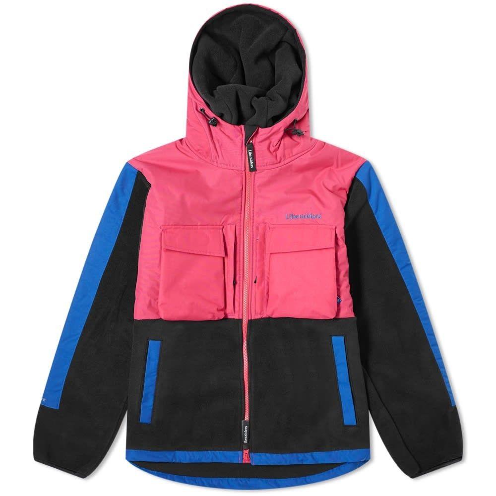リベレイダース Liberaiders メンズ フリース トップス【Polartec Fleece Jacket】Pink