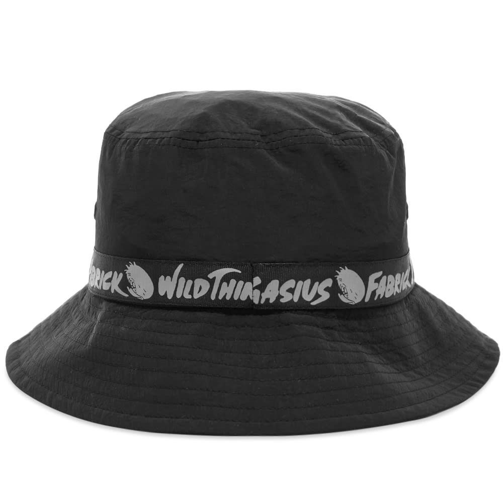 メディコム Medicom メンズ ハット バケットハット 帽子【Fabrick x Gasius x Wild Things Taped Bucket Hat】Black