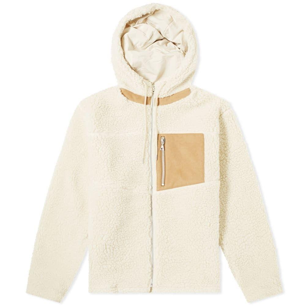 ジョン エリオット John Elliott メンズ フリース トップス【Boulder Polar Fleece Jacket】Ivory