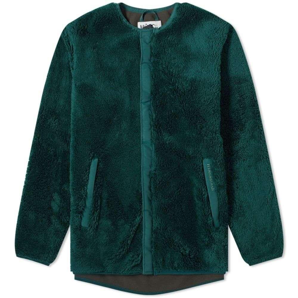 マナスタッシュ Manastash メンズ フリース トップス【Bigfoot Fleece Jacket】Green