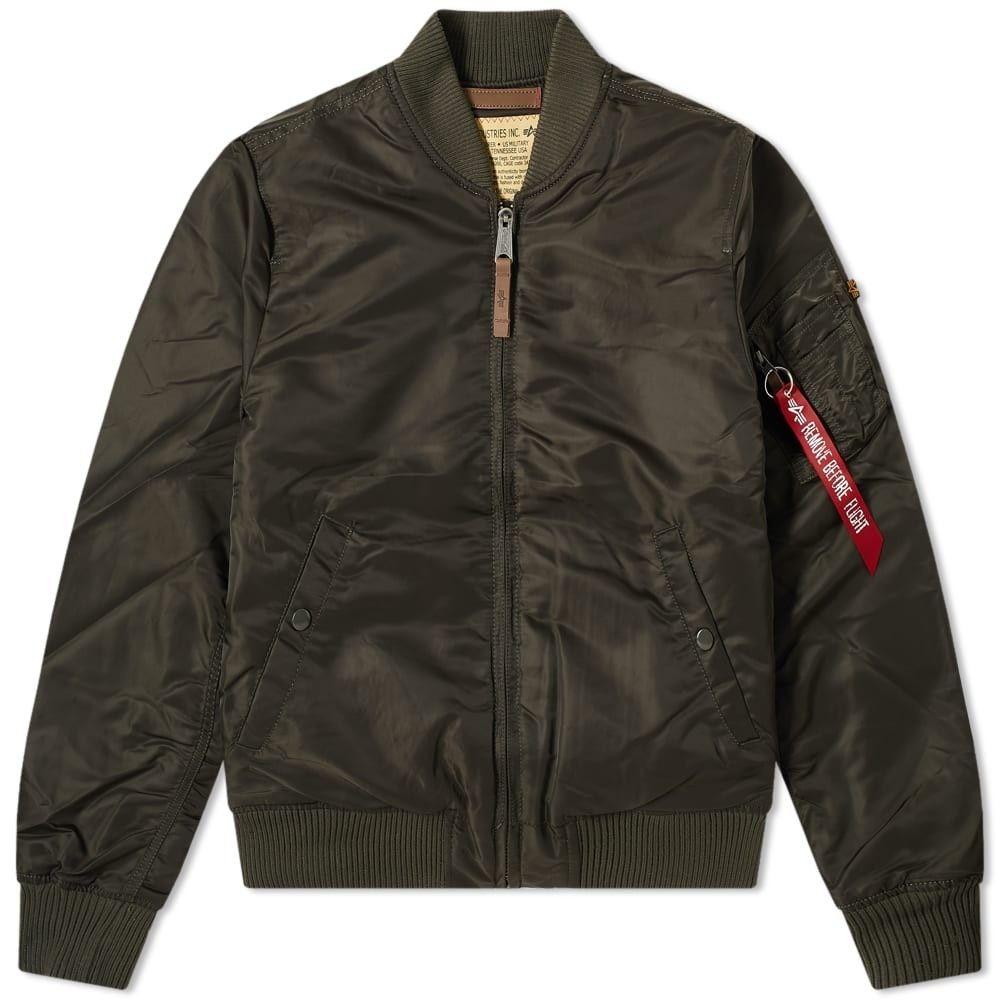 アルファ インダストリーズ Alpha Industries メンズ ブルゾン フライトジャケット アウター【MA-1 VF 59 Flight Jacket】Black Olive