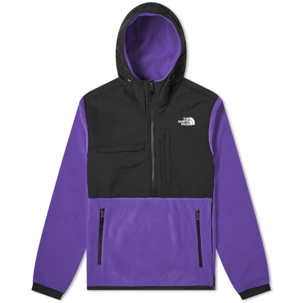 ザ ノースフェイス The North Face メンズ フリース トップス【Denali Popover Fleece Jacket】Hero Purple