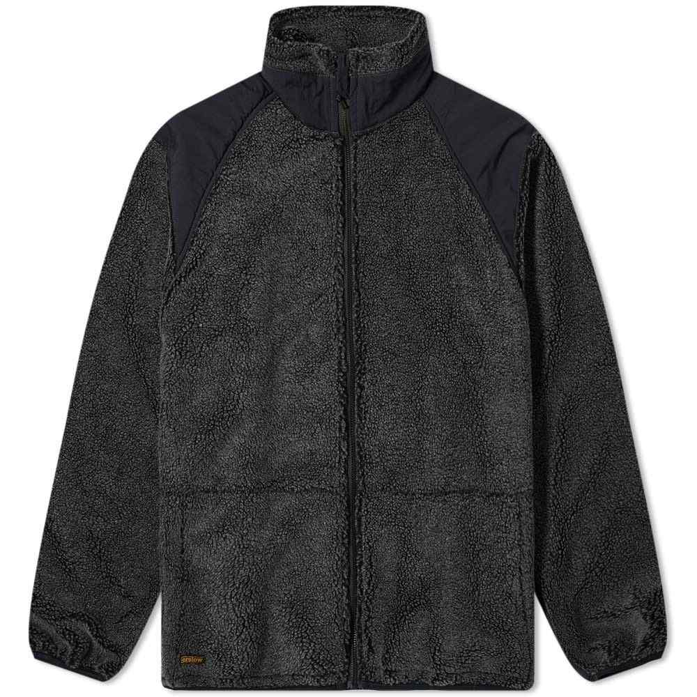 オアスロウ orSlow メンズ フリース トップス【Fleece Jacket】Charcoal Grey